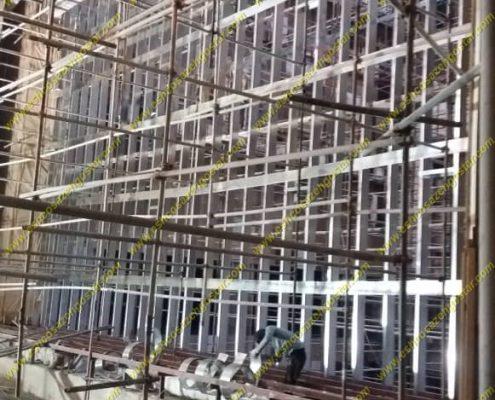 مجتمع فرهنگی طغرل شهر ری دیوار آتش آمفی تئاتر