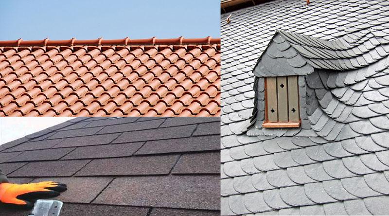 انواع سقف شیب دار