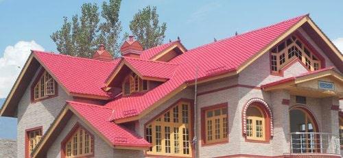 سقف شیبدار فولادی