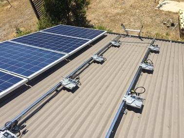 میکرواینورتر در نیروگاه خورشیدی
