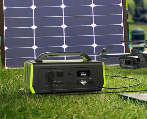 باتری ژنراتور خورشیدی