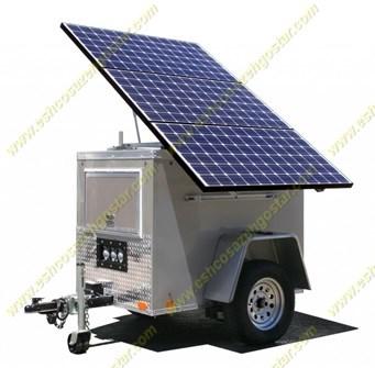 پنل خورشیدی به همراه باتری آن