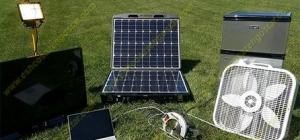 نوع های مختلفی از ژنراتور خورشیدی