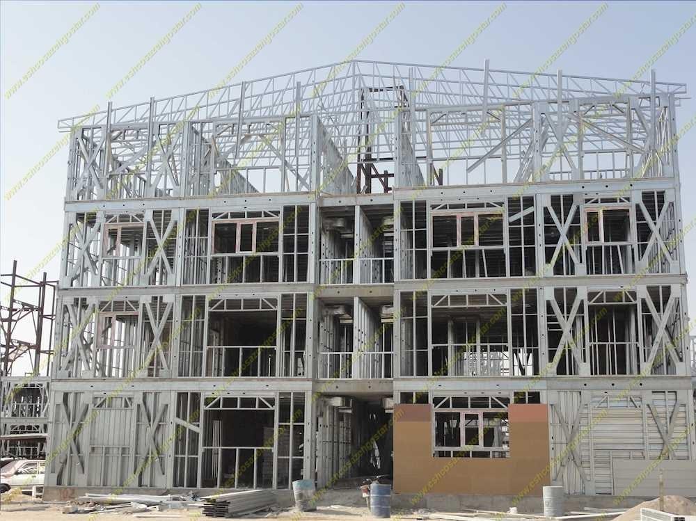 سازه های ال اس اف (LSF) در فصل تابستان
