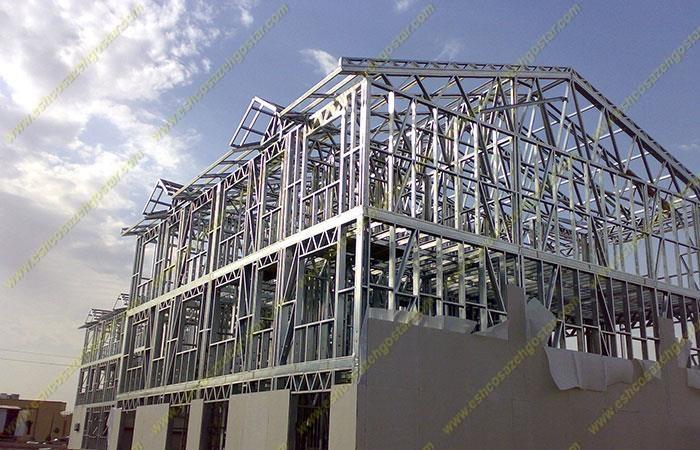 مشکل سرمایشی و گرمایشی سازه های ال اس اف (LSF)
