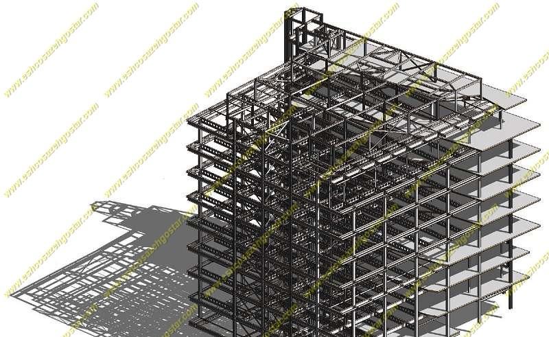نمونه کار بهترین مجری سازه LSF