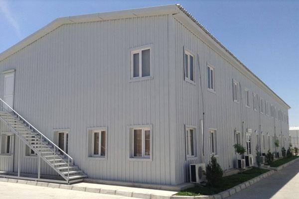 ساختمان پیش ساخته نمونه دوم