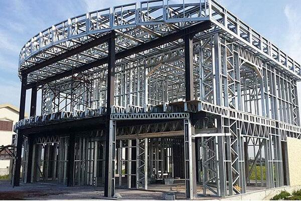 سازه های فولادی سبک